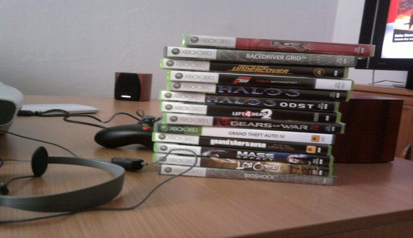 moje hry na X360