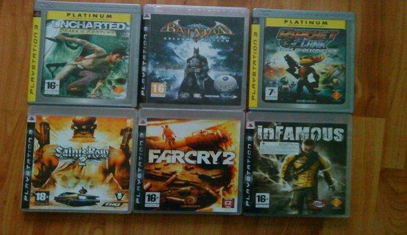 Tak toto su moje hry a ich mamka PS3 - UPDATE