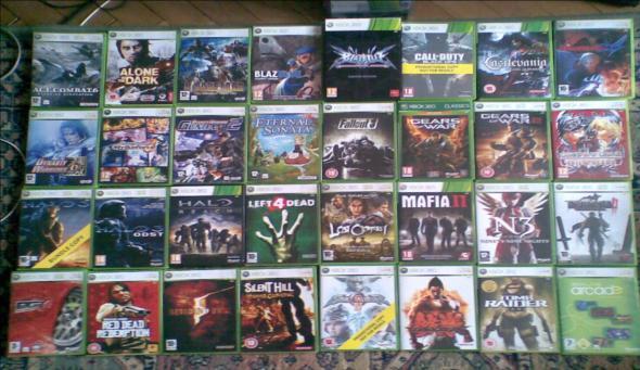 XBOX360 -> games