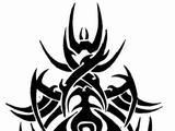 Moje vlastne tribal tetovania - kerky