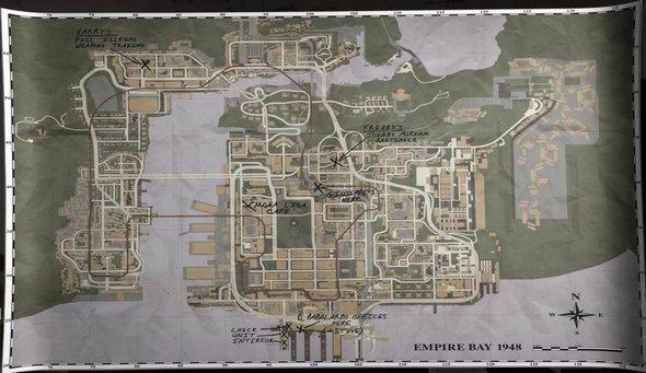 MAFIA II - Oficiálna mapa !!!