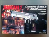 Biohazard 2 Desert Eagle.50AE Model Silver  (1998 Limted Edition)