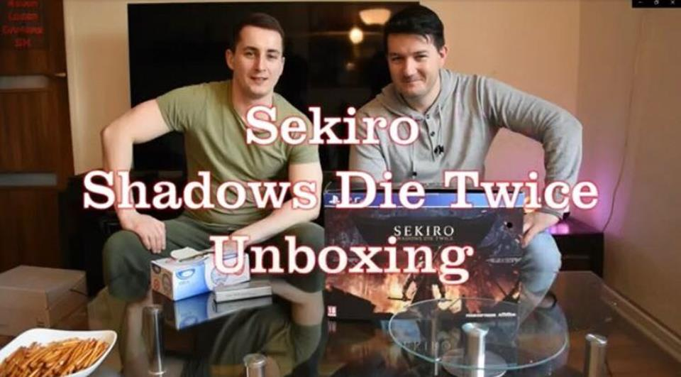 4ELG - Sekiro Shadows die twice unboxing