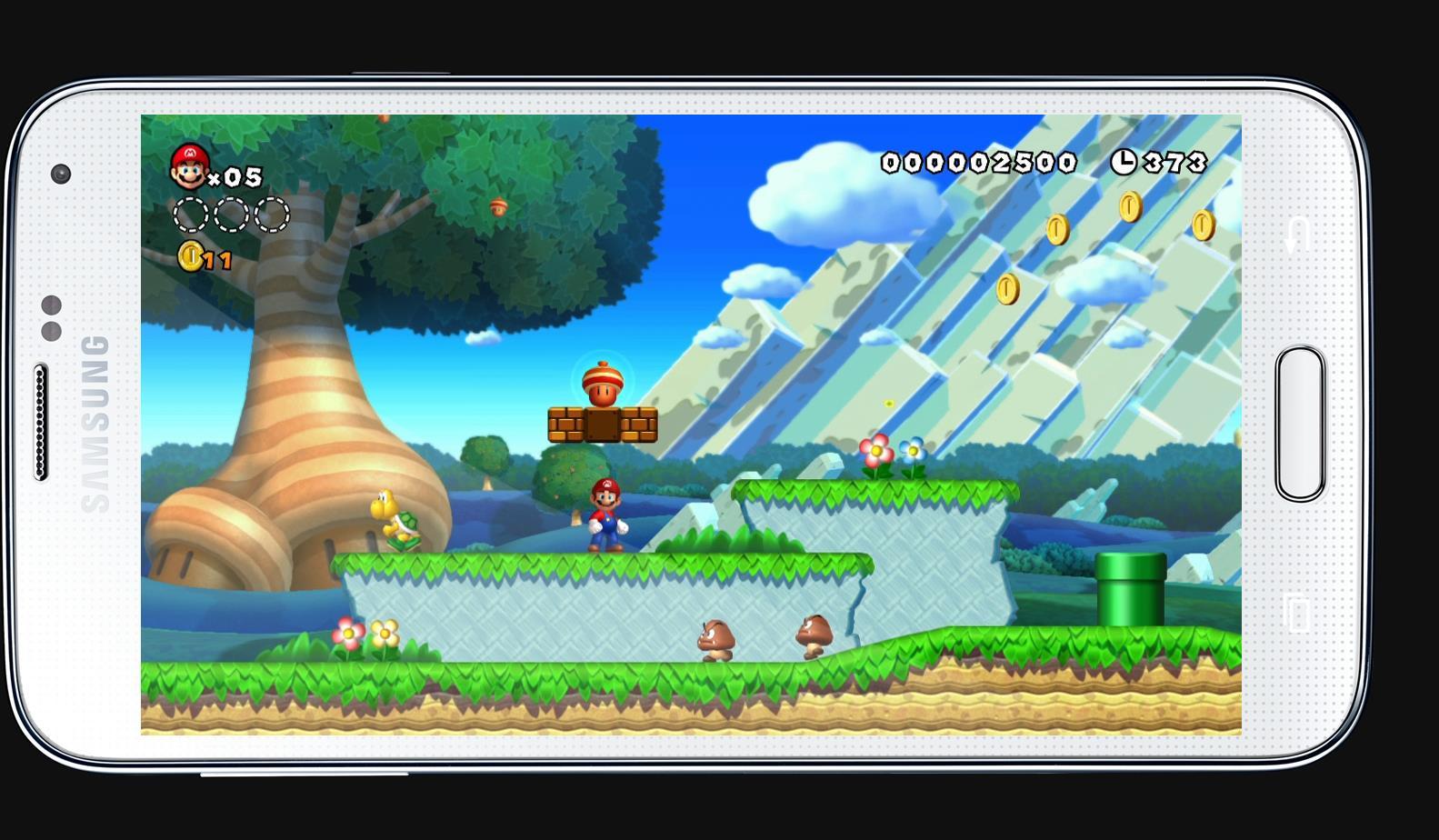 Vyzeral by Super Mario pre Android takto?