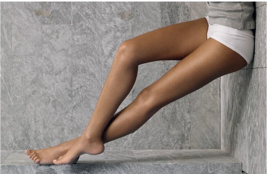 Vzorec na dokonalé ženské nohy
