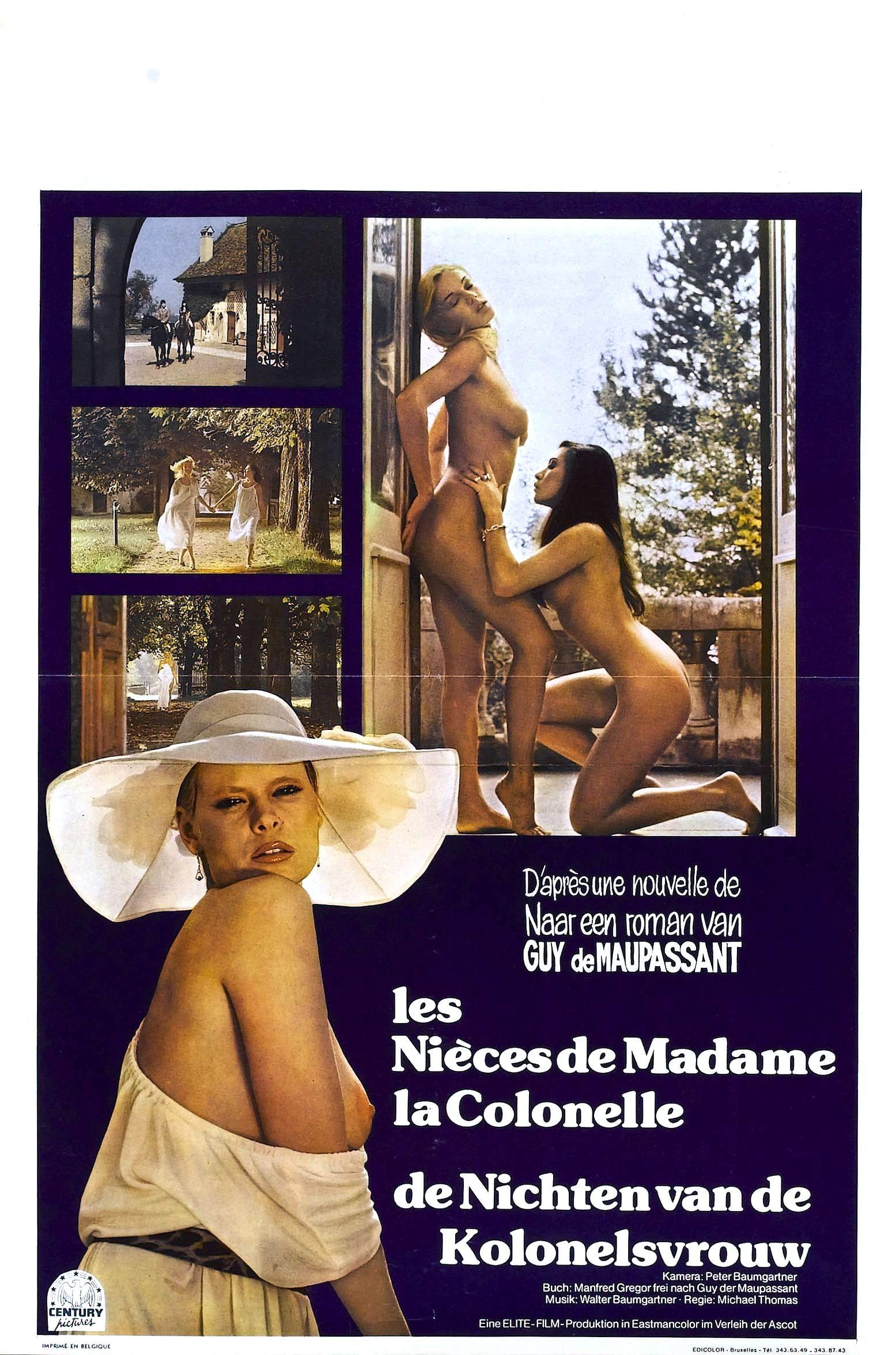 Смотреть фильм Племянницы госпожи полковницы / Die Nichten der Frau