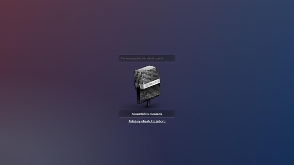Ovládanie hlasom pre Arduino/NodeMCU/Raspberry/Orange Pi projekty