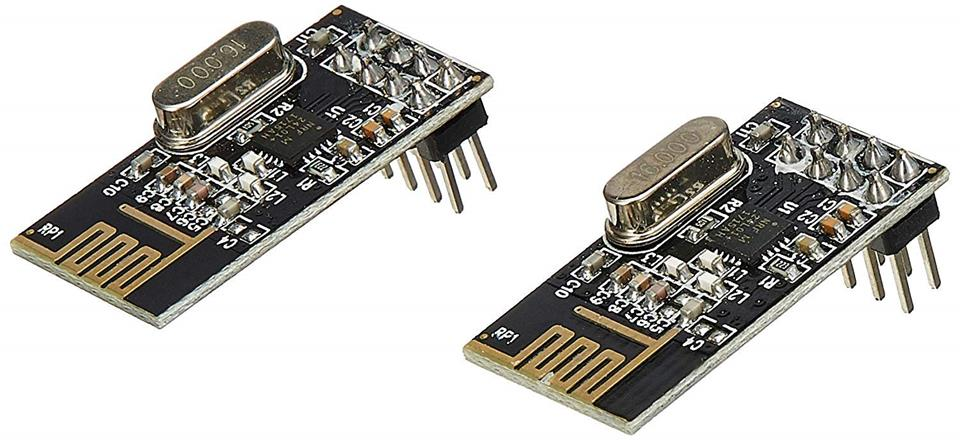 Tester dosahu / štruktúra - nRF24L01 / nRF24L01 + PA + LNA
