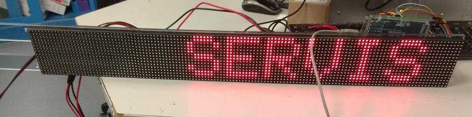 RGB maticové panely - Arduino
