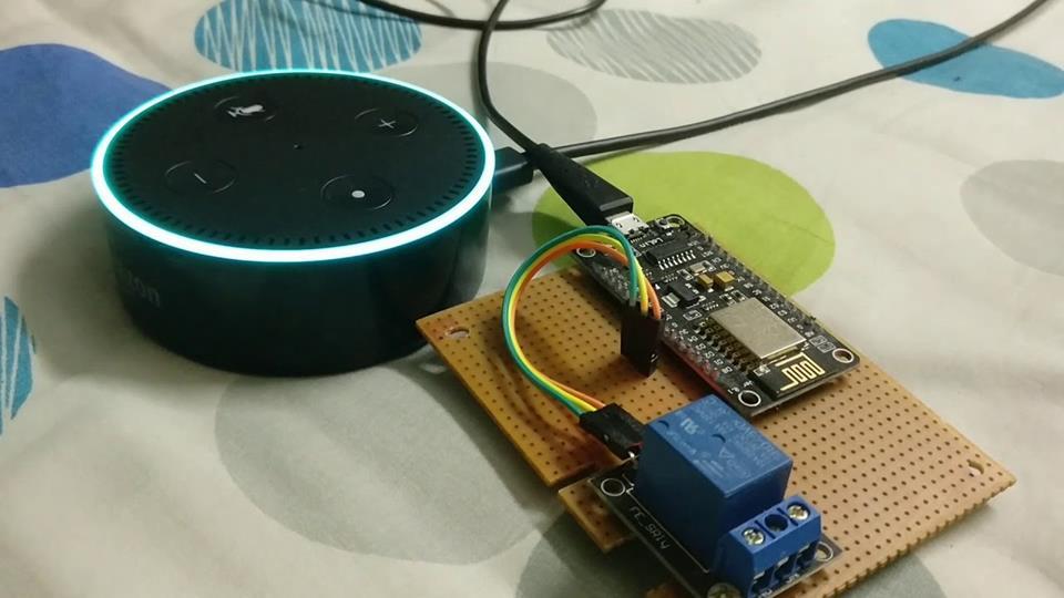 ESP8266 - Ovládanie hlasom cez Amazon Echo Dot