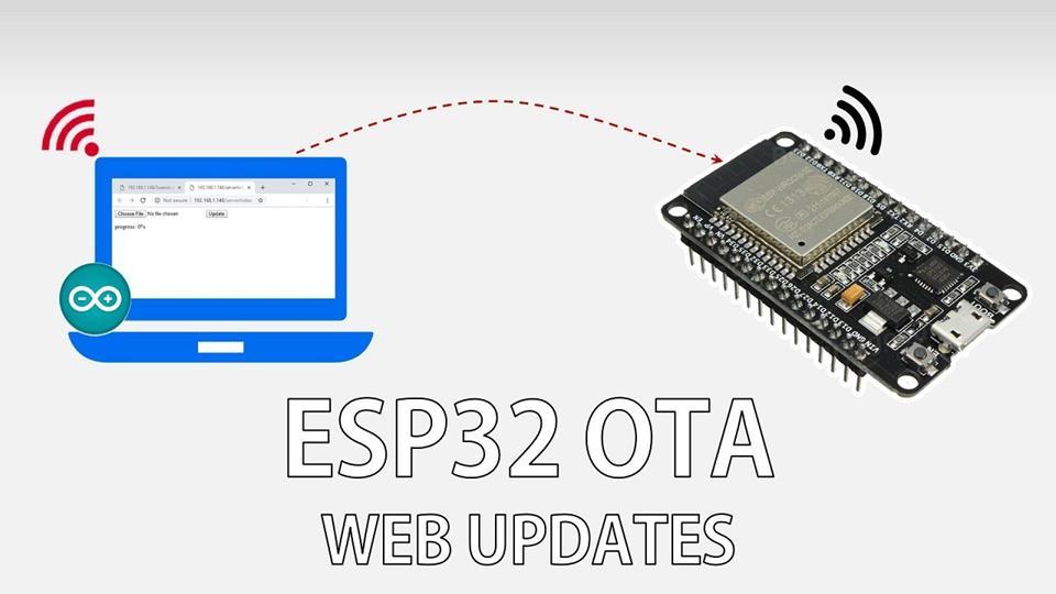 OTA (Over The Air) - ESP32 - Arduino IDE