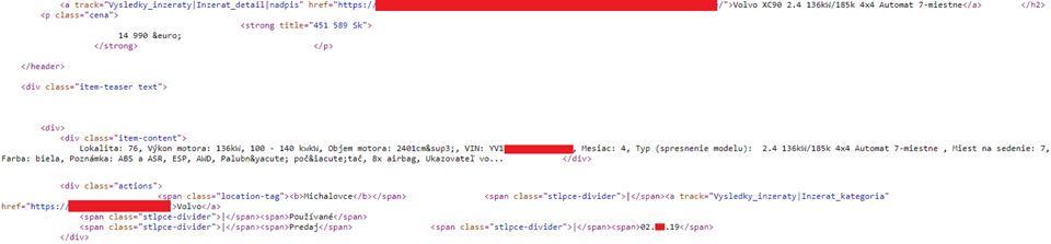 Web scraper II. - Arduino, ESP8266, ESP32