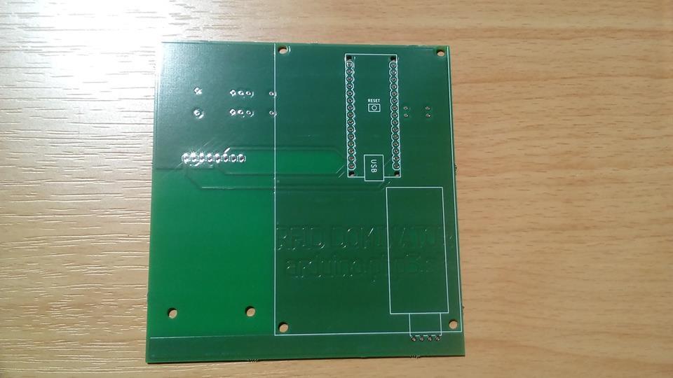 Výroba DPS - AISLER - RFID DOMINATOR
