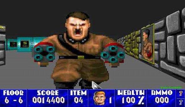 Wolfenstein 3D - zapadnuté spomienky