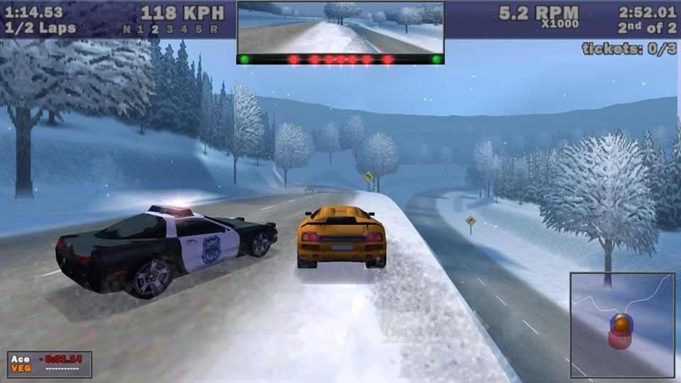 Need for Speed 3 Hot Pursuit Modern Patch