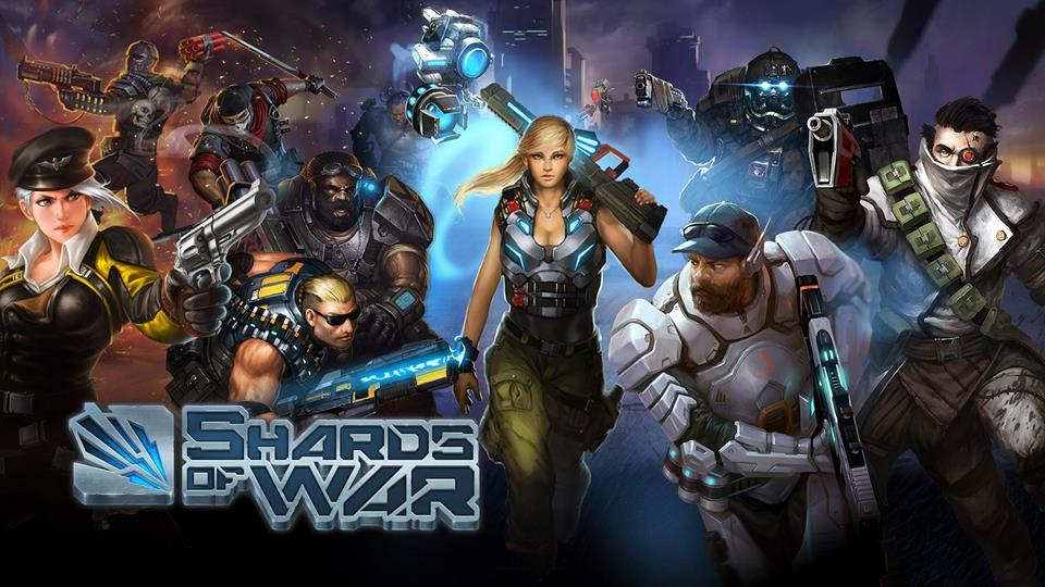 Shards Of War (MOBA) - gameplay