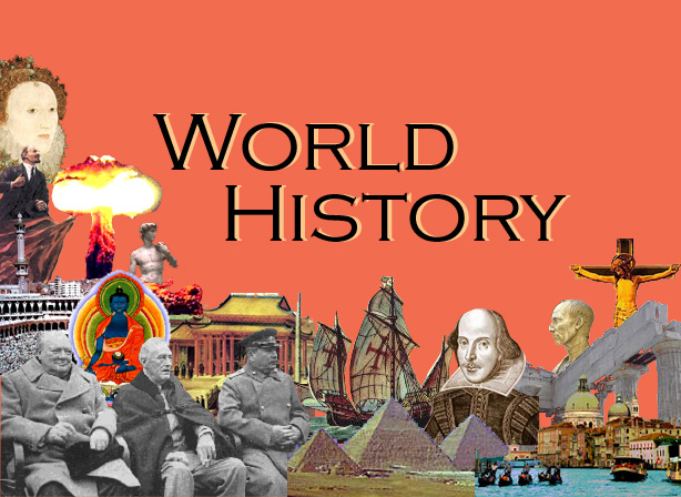 World history according to facebook