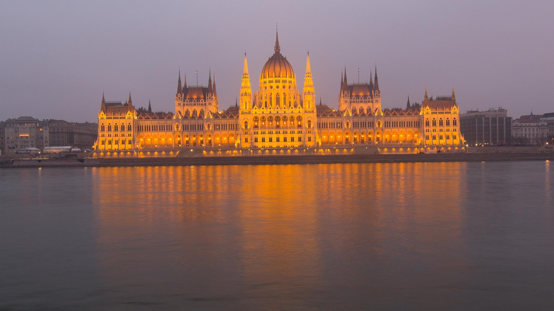 Nový rok v Budapešti.