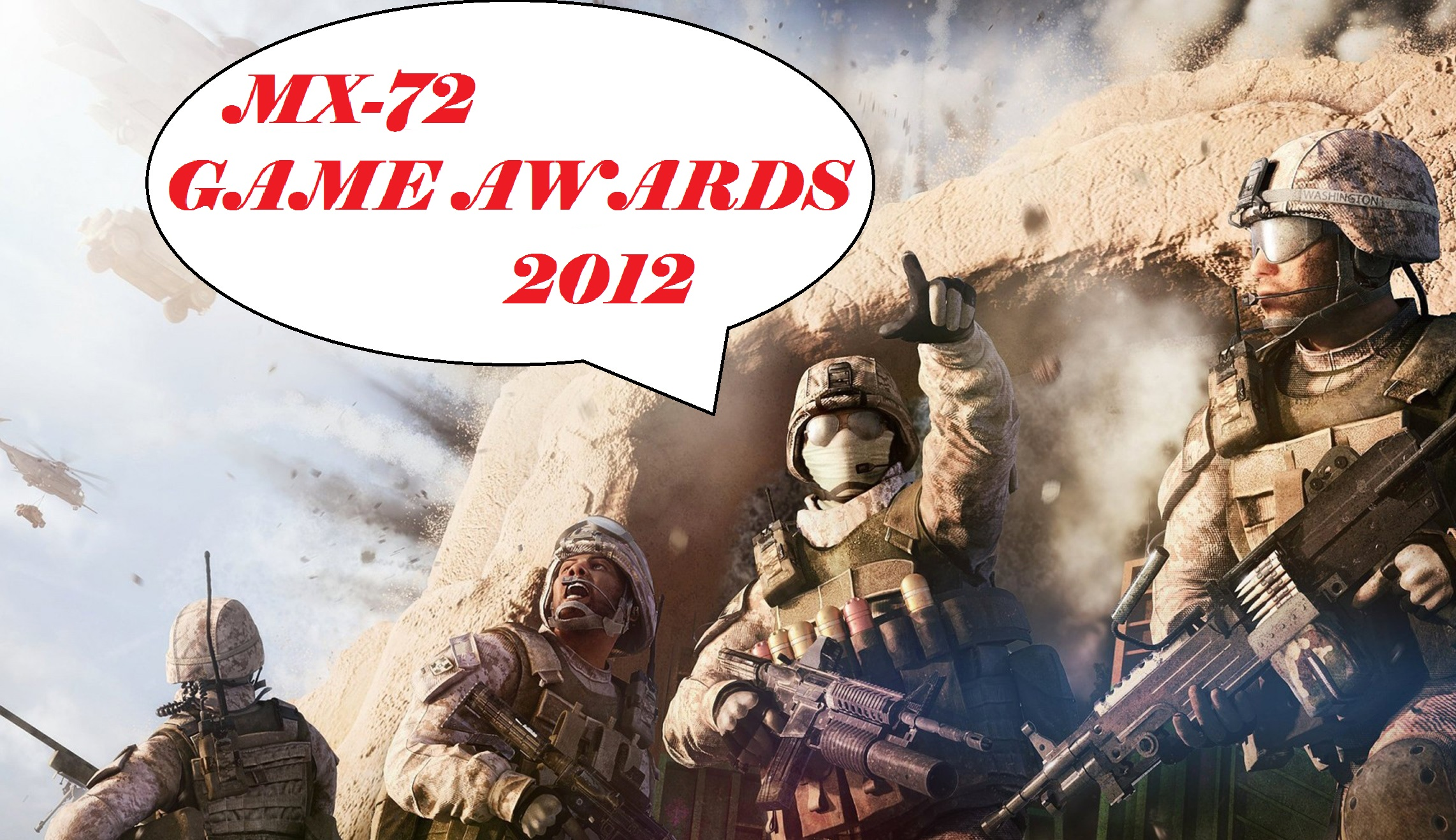 MX-72 Game Awards 2012
