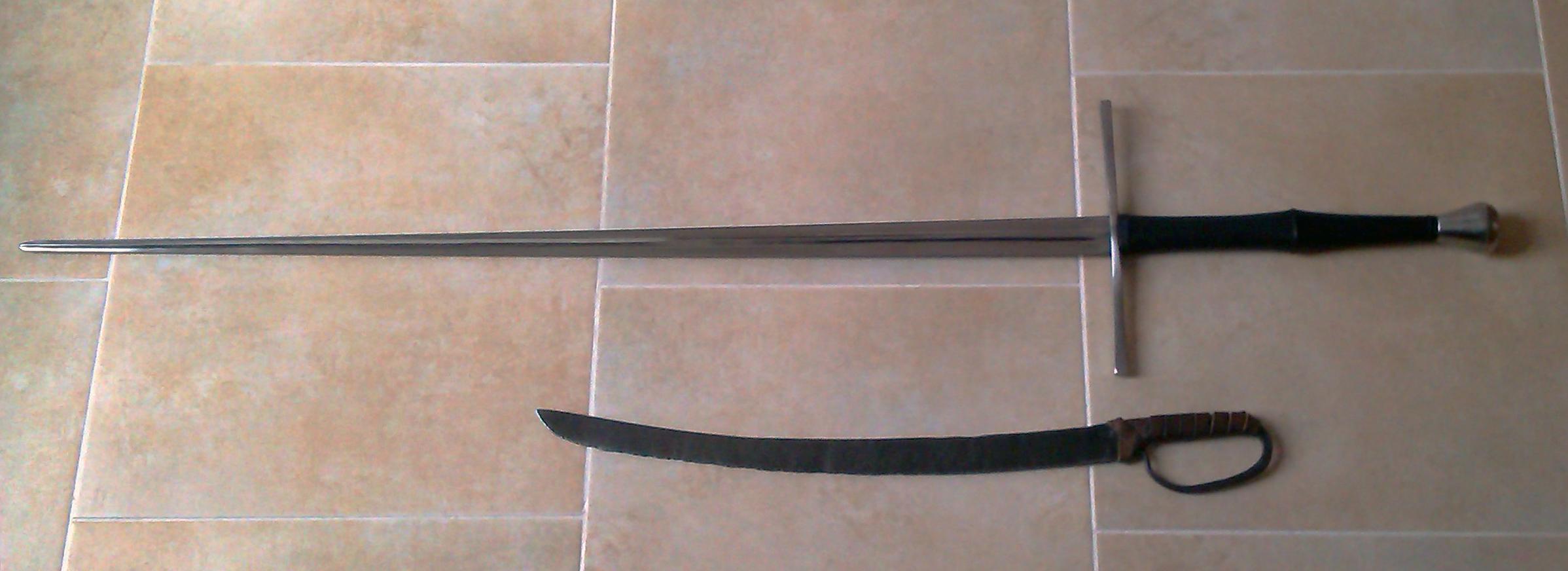 Dogynove základné info o zbraniach, časť prvá: Anatómia meča.