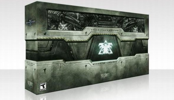 StarCraft 2 Collector's Edition unboxing