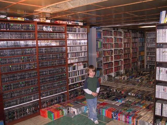 Najväčšia zbierka videohier na svete 1. časť